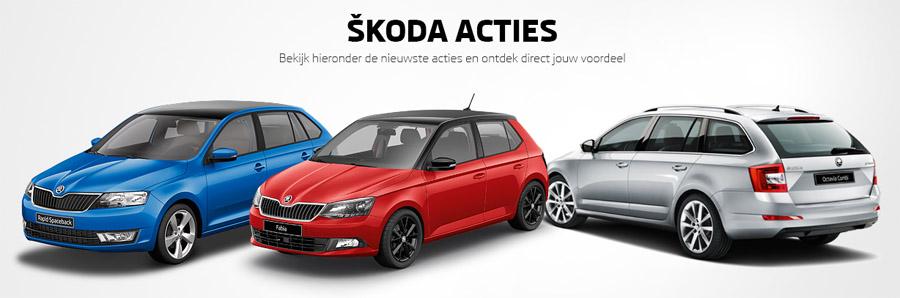Acties bij Rotor uw Skoda partner