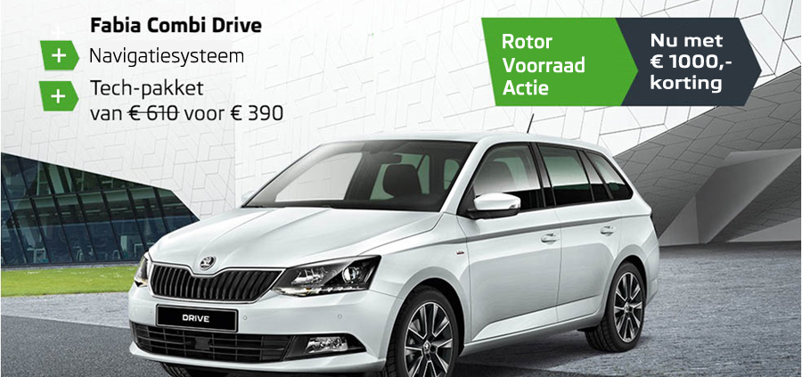 skoda fabia drive nu met 1000 korting rotor heerlen rotor heerlen. Black Bedroom Furniture Sets. Home Design Ideas