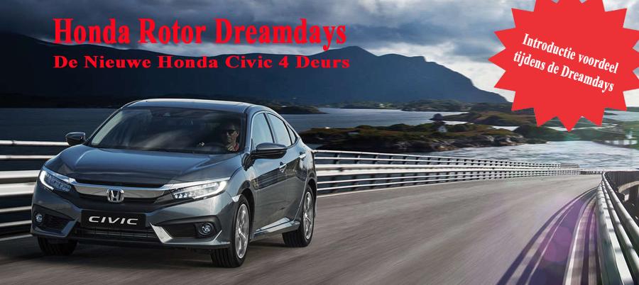 Honda Rotor Dreamdays