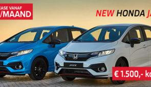 Honda Jazz tot € 1500,- korting