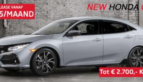 Honda Civic tot € 2700,- Korting*