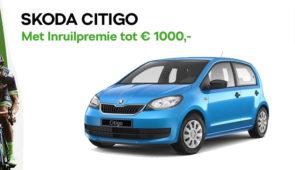 Skoda Citigo tot € 1.000,- Inruilpremie*
