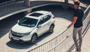 CR-V Hybrid nu in de Showroom