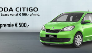 Skoda Citigo Private Lease Actie of € 500,- Inruilpremie