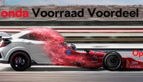 Honda Voorraad Actie tot 2490 EUR KORTING