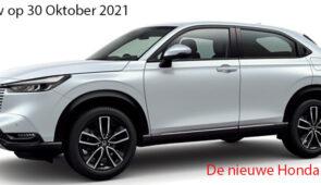 Preview Honda HR-V E-HEV Hybrid - meld je aan.